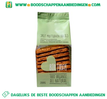 Spelt, quinoa & seeds koeken aanbieding