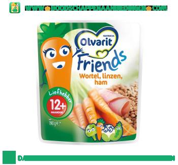 12M Friends wortel, linzen, ham aanbieding