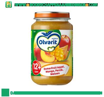 12m01 zomerfruit appel, mango, perzik en meloen aanbieding