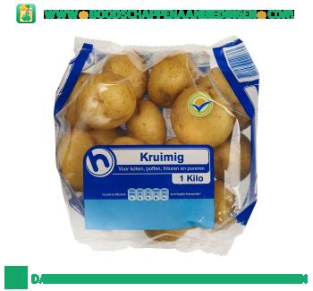 Aardappelen kruimig aanbieding