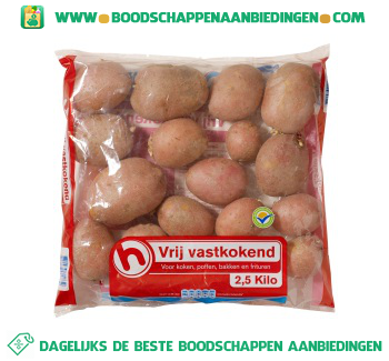 Aardappelen vrij vastkokend aanbieding