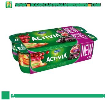 Activia Fruityoghurt assorti 8-pak aanbieding