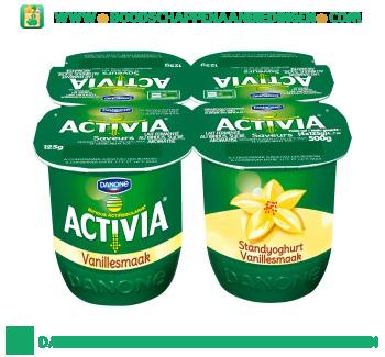 Activia Standyoghurt vanille aanbieding