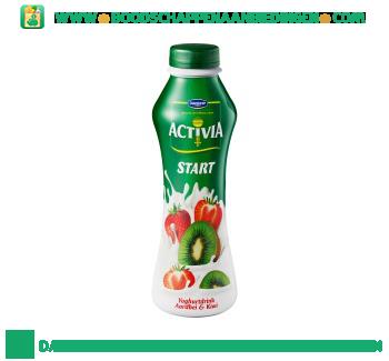 Activia Start aardbei kiwi aanbieding