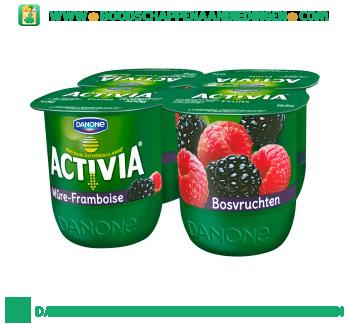 Activia Yoghurt bosvruchten 4-pak aanbieding