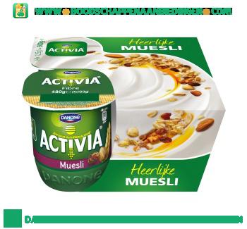Activia Yoghurt muesli 4-pak aanbieding