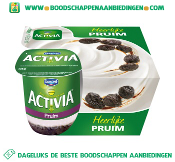 Activia Yoghurt pruim 4-pak aanbieding
