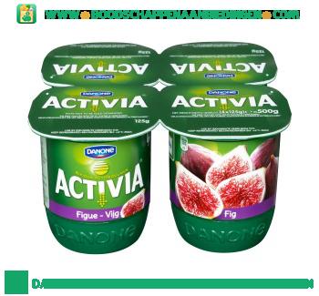 Activia Yoghurt vijg 4-pak aanbieding