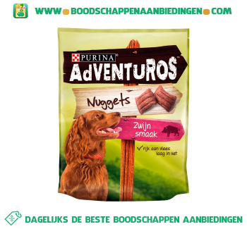 Adventuros Nuggets snacks aanbieding