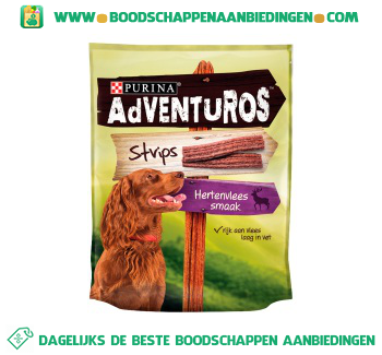Adventuros Strips snacks aanbieding
