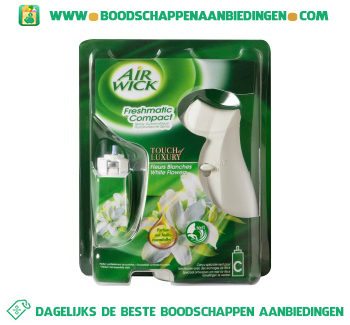 Air Wick Freshmatic compact starter witte bloemen aanbieding