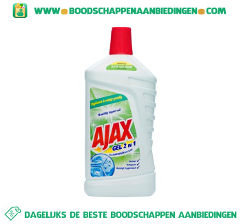 Ajax Allesreiniger gel 2 in 1 aanbieding