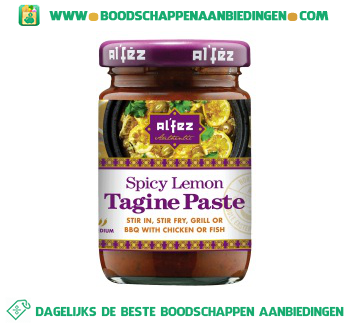 Alfez Lemon tagine paste aanbieding