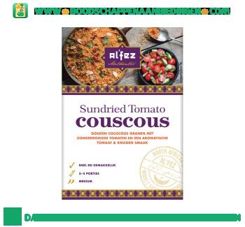 Alfez Sundried tomato couscous aanbieding