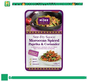 Alfez Woksaus paprika & coriander aanbieding