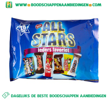 All Stars Mini mix aanbieding