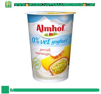 Almhof 0% vet yoghurt maracuja aanbieding