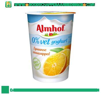 0% vet yoghurt spaanse sinaasappel aanbieding
