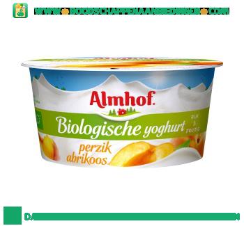 Almhof Biologische yoghurt perzik arbikoos aanbieding