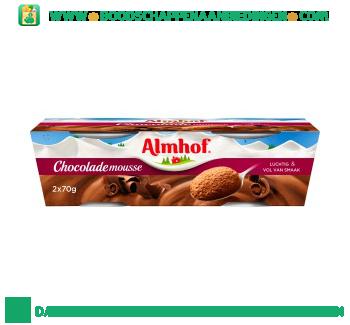 Almhof Chocolade mousse aanbieding