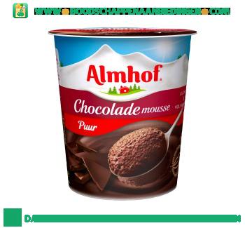 Almhof Chocolademousse puur aanbieding