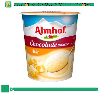 Almhof Chocolademousse wit aanbieding