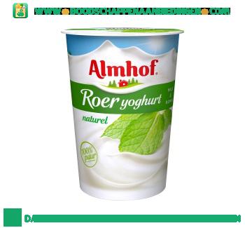 Almhof Roeryoghurt naturel aanbieding