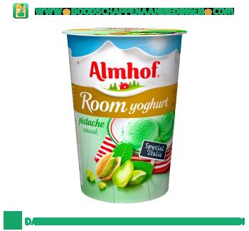 Roomyoghurt pistache aanbieding