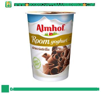 Almhof Roomyoghurt stracciatella aanbieding