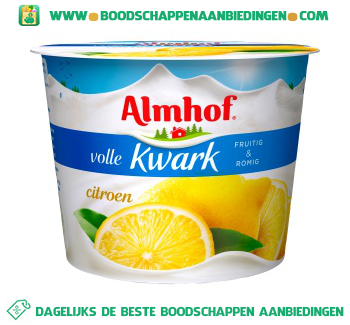 Almhof Volle kwark citroen aanbieding