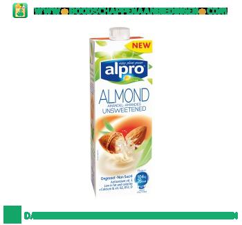 Alpro Amandel drink ongezoet houdbaar (lactosevrij) aanbieding