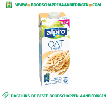 Alpro Haver drink houdbaar (lactosevrij) aanbieding