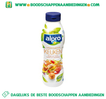 Alpro Keuken vloeibaar (lactosevrij) aanbieding