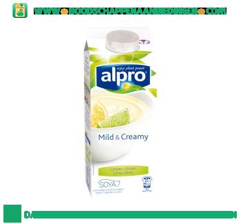 Alpro Mild & creamy limoen citroen (lactosevrij) aanbieding