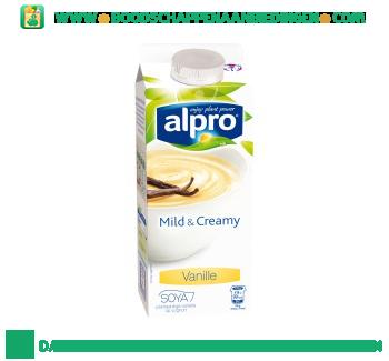 Alpro Mild&creamy vanille (lactosevrij) aanbieding