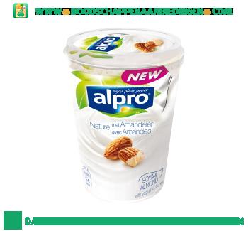 Alpro Plantaardige variatie op yoghurt naturel met amandelen aanbieding