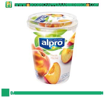 Alpro Plantaardige variatie op yoghurt perzik aanbieding