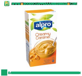 Alpro Soya dessert caramel (lactosevrij) aanbieding
