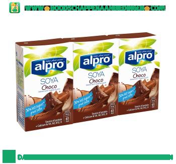 Alpro Soya drink choco (lactosevrij) aanbieding