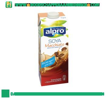 Alpro Soya drink macchiato (lactosevrij) aanbieding