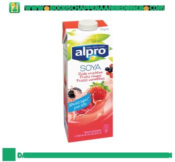 Alpro Soya drink rode vruchten (lactosevrij) aanbieding
