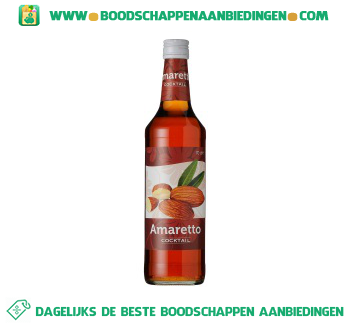 Amaretto cocktail aanbieding