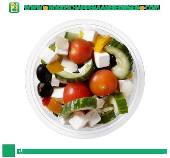 Ambachtelijke Griekse salade aanbieding