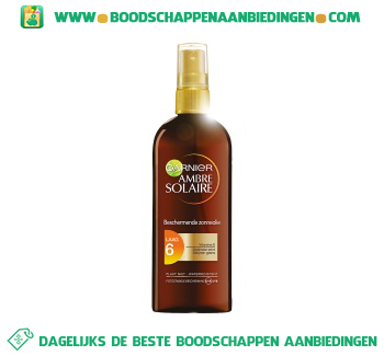 Ambre Solaire Oil spray spf6 aanbieding