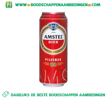 Amstel Blik aanbieding