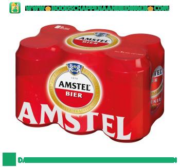 Amstel Pak 6 blikjes aanbieding