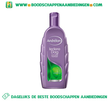 Andrélon Shampoo iedere dag aanbieding