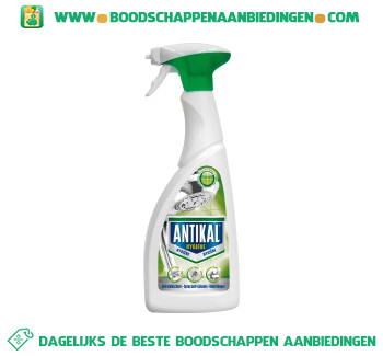 Antikal Kalkreiniger spray hygiëne aanbieding
