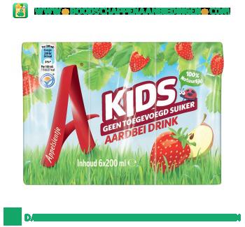 Appelsientje Kids vruchtensap aardbei 6-pak aanbieding