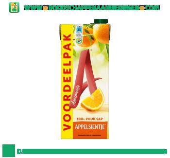 Appelsientje Sinaasappelsap voordeelpak aanbieding